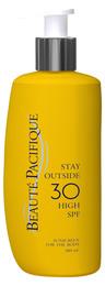 Beauté Pacifique Stay Outside Sun Lotion spf 30  2