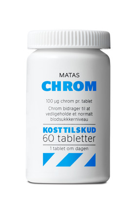 Matas Striber Chrom 100 Mikrogram 60 tabl.
