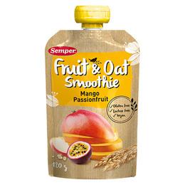 Smoothie frugt og havre m. mango glutenfri 120 g