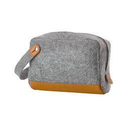 Zone filt toilettaske, Grey, L:25xW:10xH:15 cm