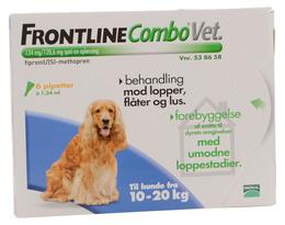 Frontline Combo Vet. 10-20 kg 6 x 1,34 ml