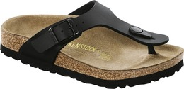 Birkenstock Gizeh Leather Black Str. 38