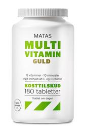 Matas Striber Matas Multivitamin Guld 180 tabl.