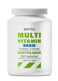 Matas Striber Matas Multivitamin Basis 250 tabl. 250 tabl.