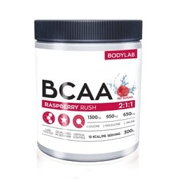 Bodylab BCAA Raspberry Rush 300 g
