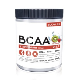 Bodylab BCAA Strawberry Kiwi 300 g
