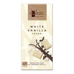 ichoc Ichok white vanilla Øko 80 gr.