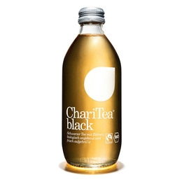 ChariTea Black Øko 330 ml Sort te