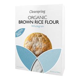 Clearspring Fuldkornsrismel af brune ris Øko  375 gr.