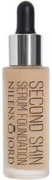 Nilens Jord Second Skin Serum Foundation 550
