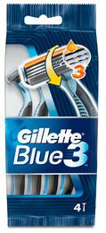 Gillette Blue III 4p engangsskrabere 4 stk.