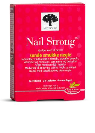 New Nordic Nail Strong 30 tabl.