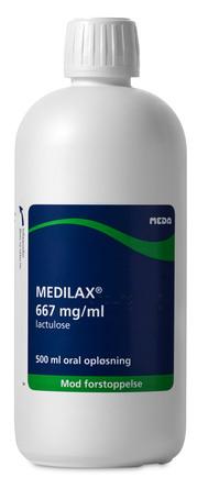 Medilax 667mg/ml 500ml oral opløsning
