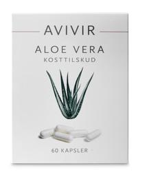 AVIVIR Aloe Vera Kapsler 60 kap