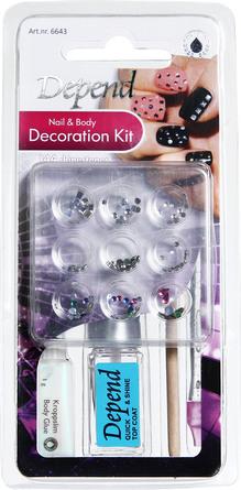 Depend Nail & Body Decoration Kit 6643