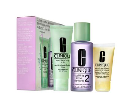 Clinique 3-Step Skin Care Intro Set Skin Type 2 180 ml