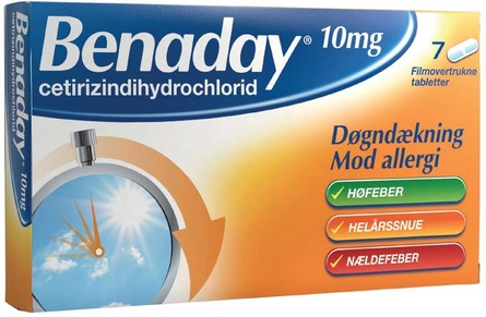 Benaday 10 mg 7 tabl.