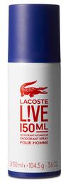 Lacoste Live Deodorant Spray 150 Ml