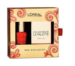 L'Oréal Paris  L'Huile Red gaveæske