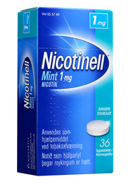 Nicotinell Mint sugetablet 1 mg 36 stk