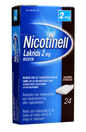 Nicotinell Lakrids 2 mg 24 stk