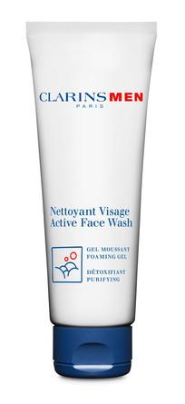 Clarins Men Active Face Wash 125 Ml