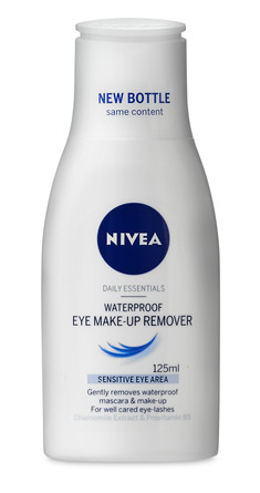 Nivea Essentials Waterproof Eye Makeup Remover 125 ml