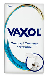 Vaxol Ørespray 10 ml