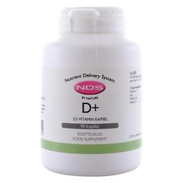 NDS D3+ D-Vitamin 90 kap