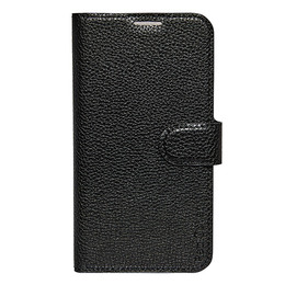 Mobilcover Samsung s6E sort flip-side, RadiCover