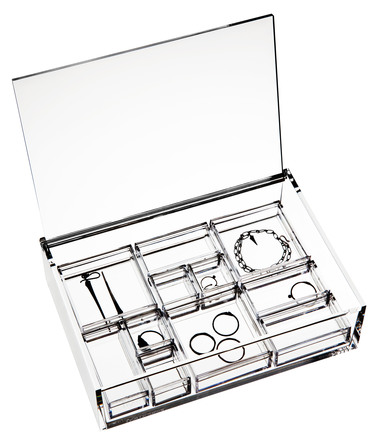 Nomess Jewellery Box Clear