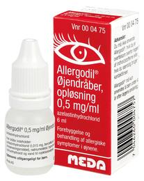 Allergodil Øjendråber 6 ml