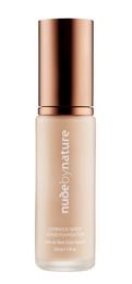 Nude by Nature Luminous Sheer Liquid Foundation C1 Ivory, 30 Ml