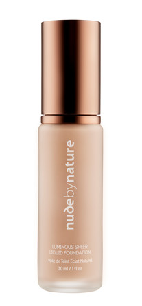 Nude by Nature Luminous Sheer Liquid Foundation N1 Shell Beige, 30 Ml