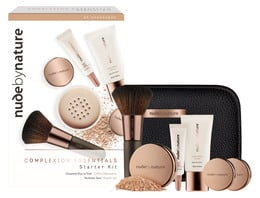 Nude by Nature The Complexion Essentials Starter Kit W4 Soft Sand, 6 Stk