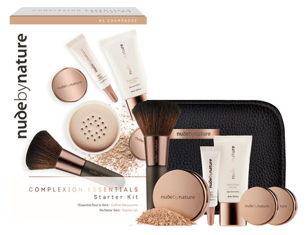 Nude by Nature The Complexion Essentials Starter Kit N4 Silky Beige