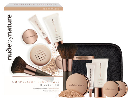 Nude by Nature The Complexion Essentials Starter Kit W2 Ivory, 6 Stk