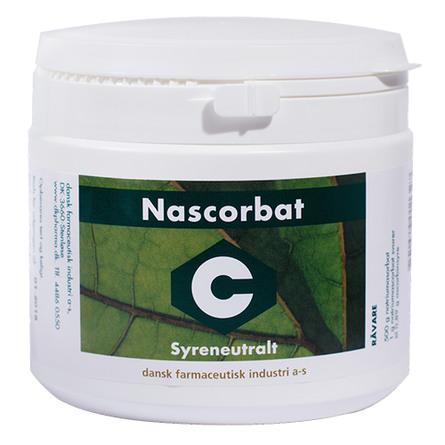 DFI - Serien Den Grønne Serie Nascorbat (syreneut. C-vitamin) 500 g