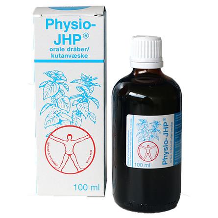 JHP olie Physio JHP Pebermynteolie 100 ml