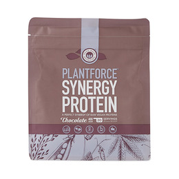 Protein chokolade Plantforce Synergy 400 g