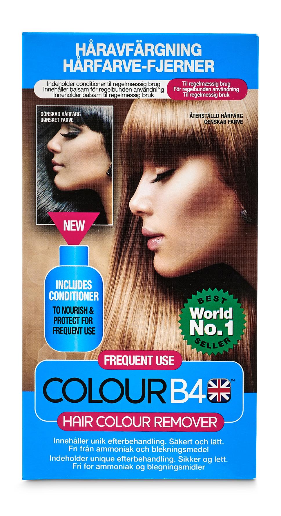 afrensning af hårfarve