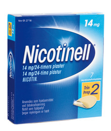 Nicotinell Plaster 14 mg 7 stk