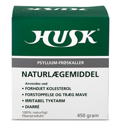 HUSK Psyllium-frøskaller 450 g