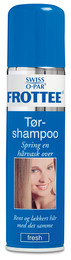 Swiss-O-Par Frottee tørshampoo spray 200 ml
