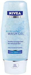 Nivea Daily Essential Refreshing Wash Gel 150 ml