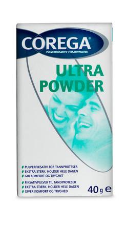 Corega Ultra Pulver 40 g