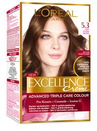 L'Oréal Excellence 5.3 Lys gyldenbrun
