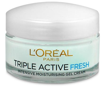 L'Oréal Paris Triple Active Fresh dagcreme Normal/Mix Hud 50 ml