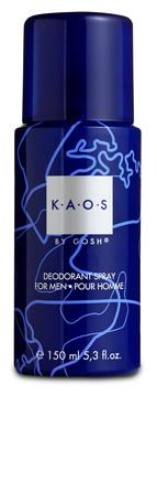 Gosh dufte KAOS For Men Deodorant Spray 150 ml