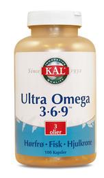 KAL Ultra Omega 3-6-9 100 kaps